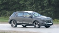 2014 Mercedes-Benz GLA SUV spy photos