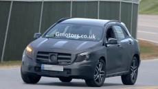 2014 Mercedes-Benz GLA SUV testing