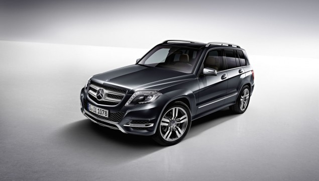 2013 Mercedes-Benz GLK Receives All-Terrain Design