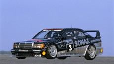 In 1992, Klaus Ludwig clinched the DTM champion's title at the wheel of an AMG-Mercedes 190 E 2.5-16 Evolution II.