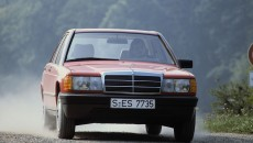 Mercedes-Benz (W 201 model series). 1982 photograph