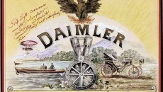 Resplendent: the original trademark design for Daimler-Motoren-Gesellschaft was created in around 1897 and includes a wealth of elements