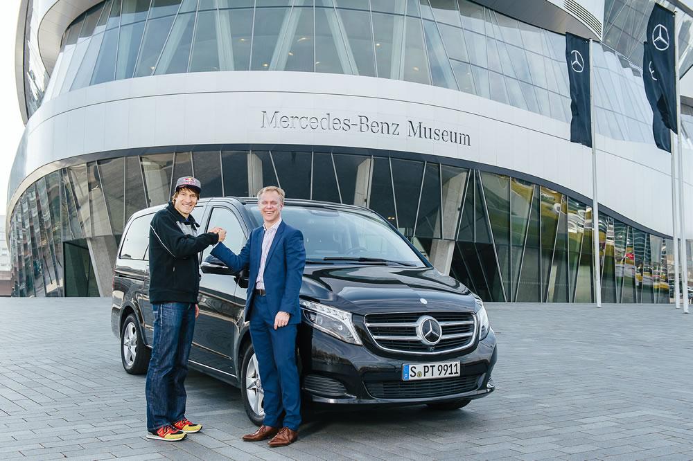 Sebastian Kienle with Mercedes-Benz