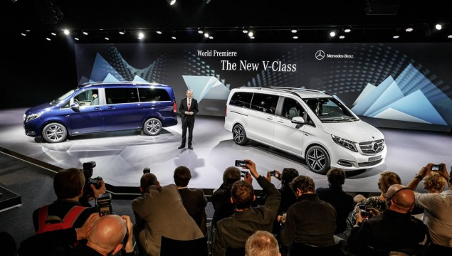 Mercedes-Benz V-Class World Premiere