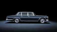 Mercedes-Benz 600 (W 100, 1963 to 1981). The car in the photo dates from 1963