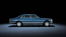 Mercedes-Benz S-Class 126 series (1979 to 1991). The 500 SEL model in the photo dates from 1982