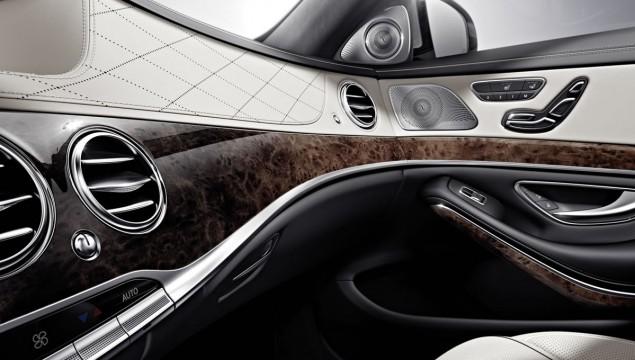 Mercedes-Benz S-Class, interior
