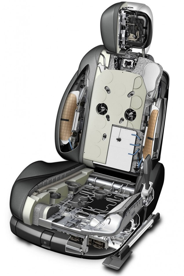 mercedes benz s class interior seat structure graphic a host of innovations - Mercedes Benz 2014 Interior
