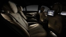 2014 Mercedes-Benz S-Class Interior backseat
