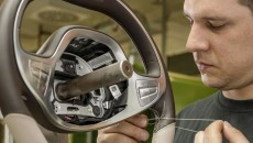 2014 Mercedes-Benz S-Class Interior steering wheel