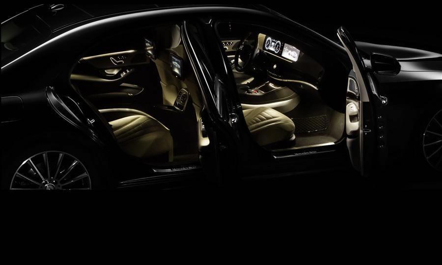 2014 mercedes benz s class interior lighting - Mercedes Benz 2014 S Class Interior