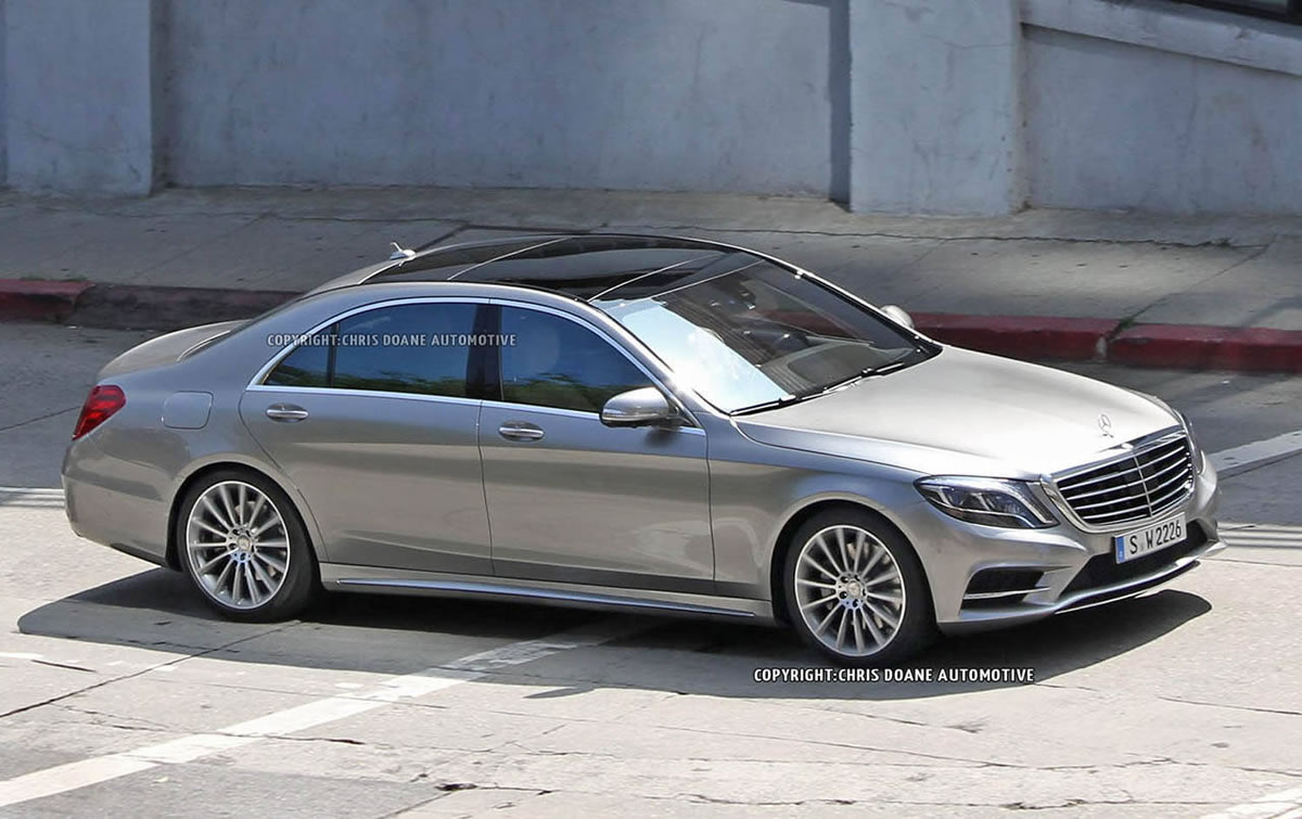 2014 Mercedes-Benz S-Class exterior 99