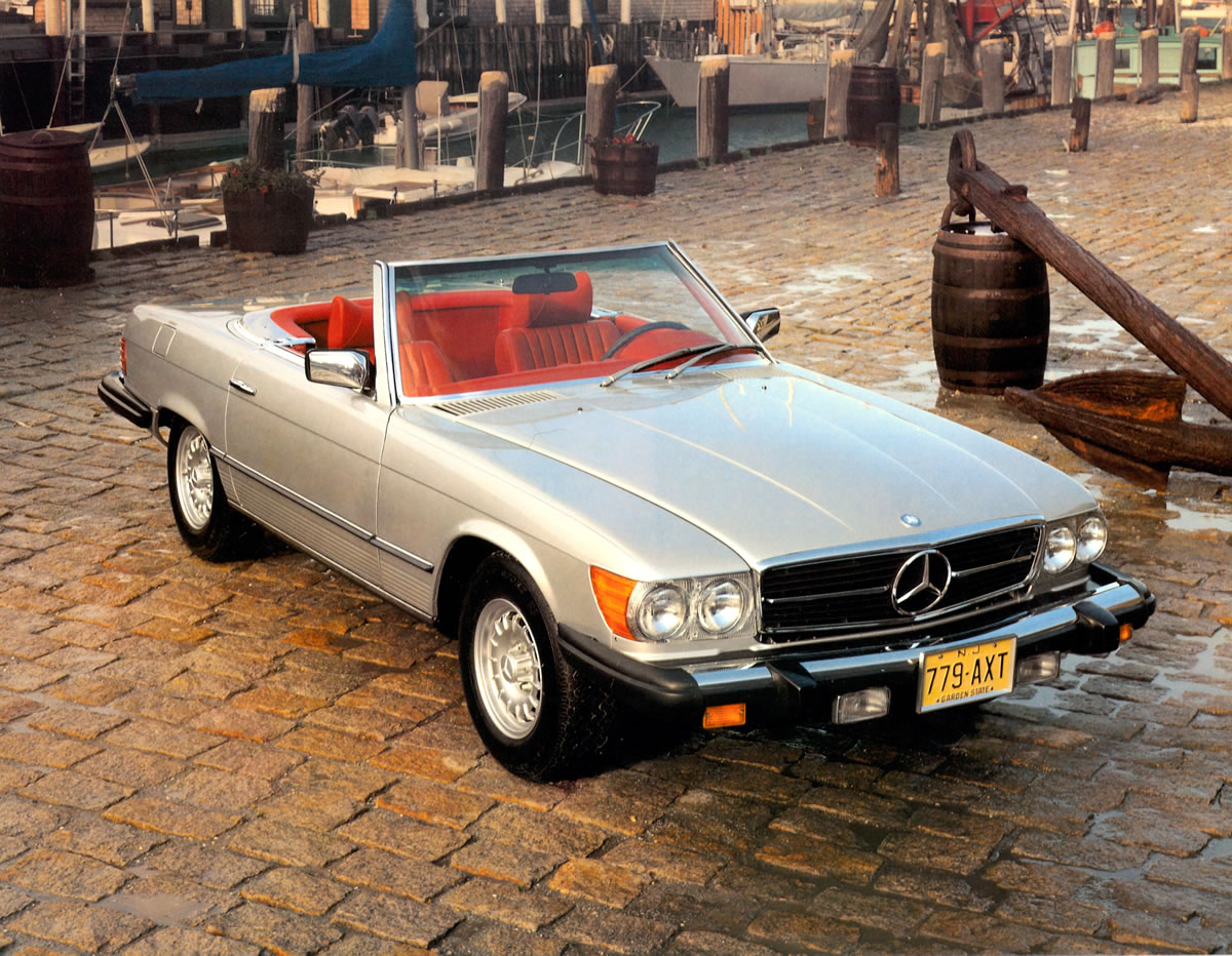 Mercedes Benz 350 sl 1998 Mercedes-benz 450 sl r 107