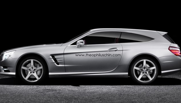 Mercedes SL Shooting Brake