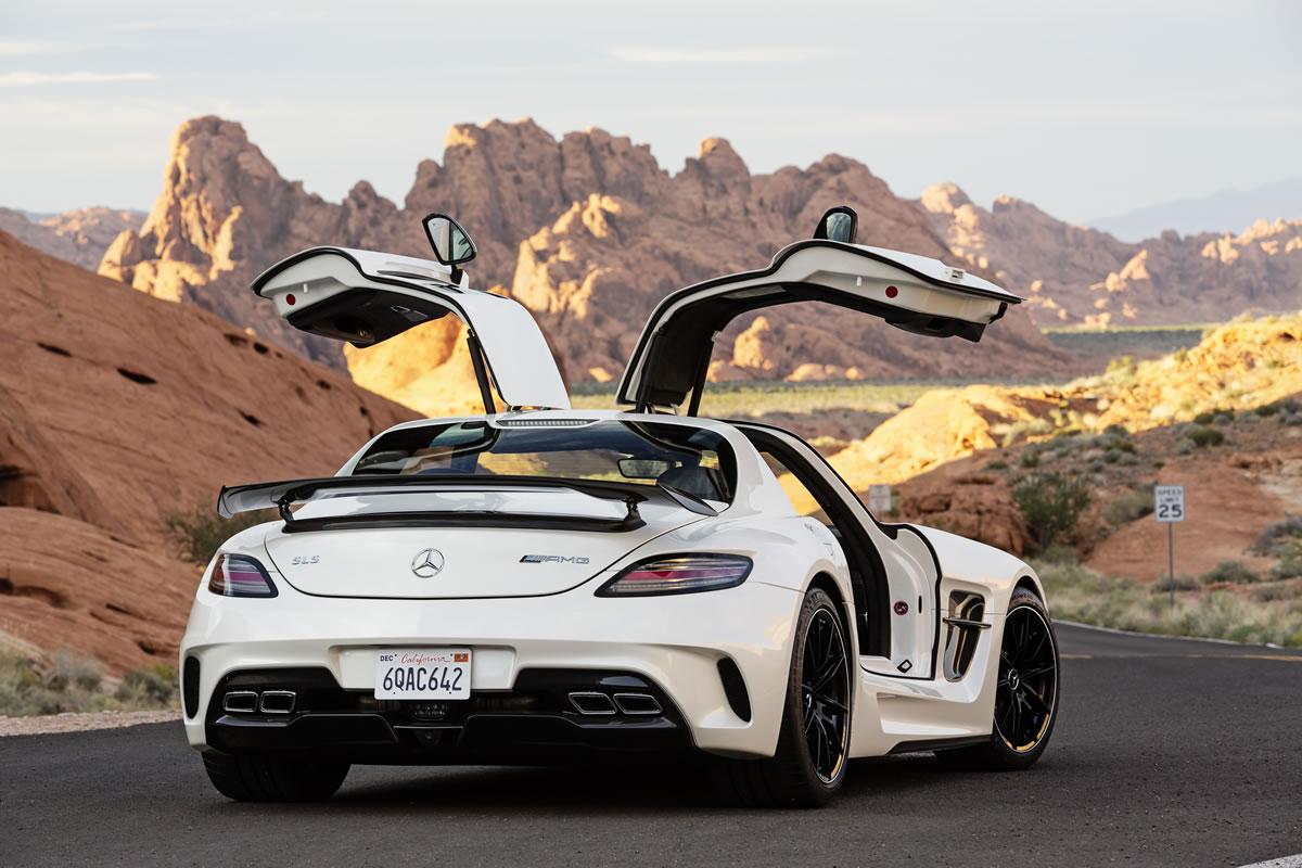 Mercedes Sls Amg Black...