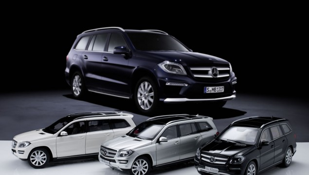 Mercedes-Benz Scale Models – GL Added to Collection