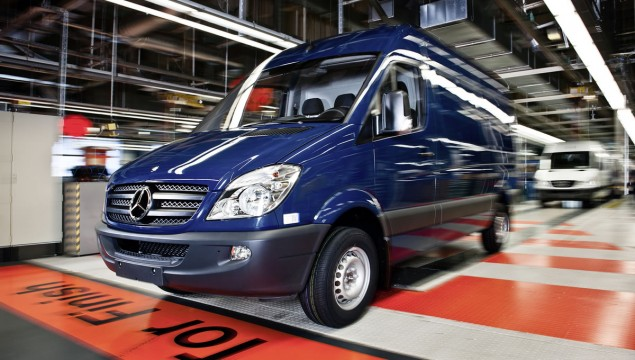 Mercedes-Benz Sprinter Finds Success on U.S. Roads