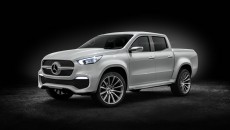 Mercedes-Benz Concept X-CLASS – First Look at the new Mercedes-Benz Pickup Truck