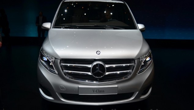 Mercedes V-Class Unveiled in Geneva
