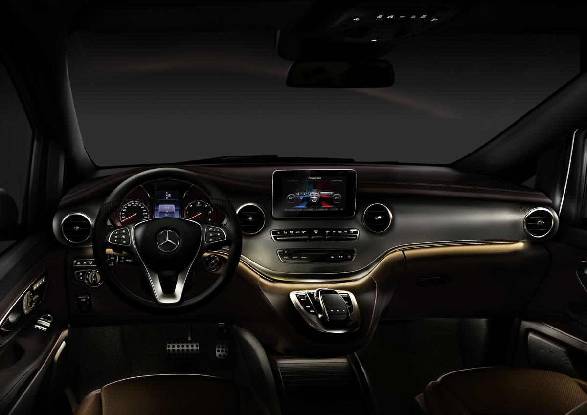 2015 mercedes benz v class interior - 2015 Mercedes Benz Interior