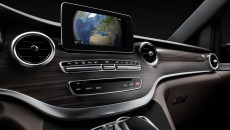 Mercedes-Benz V-Class Interior Popup Display