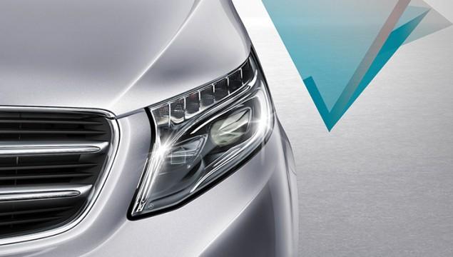 Mercedes-Benz V-Class Interior exterior