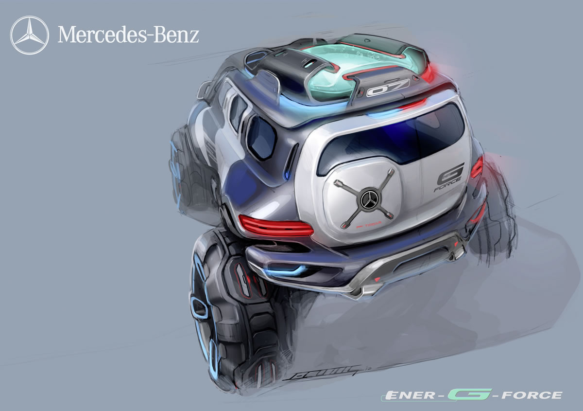 2025 Mercedes-Benz Ener-G-Force SUV rendering