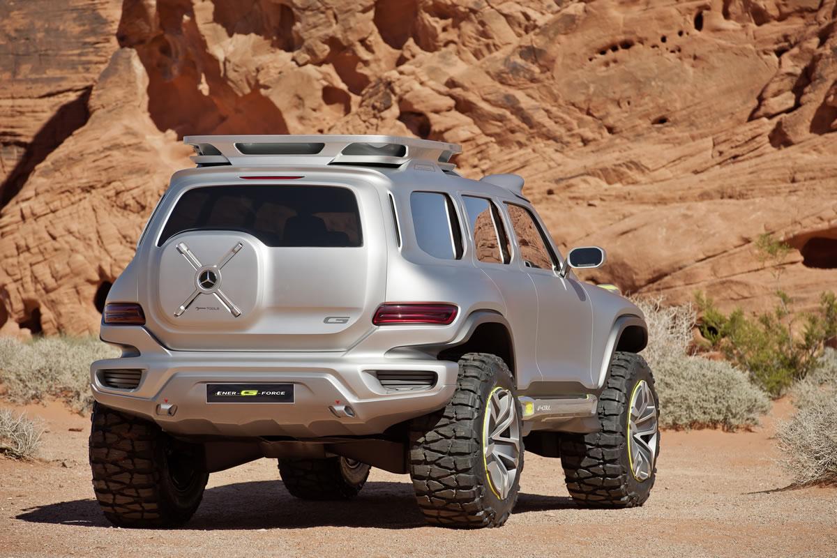 Mercedes-Benz G-Class Concept