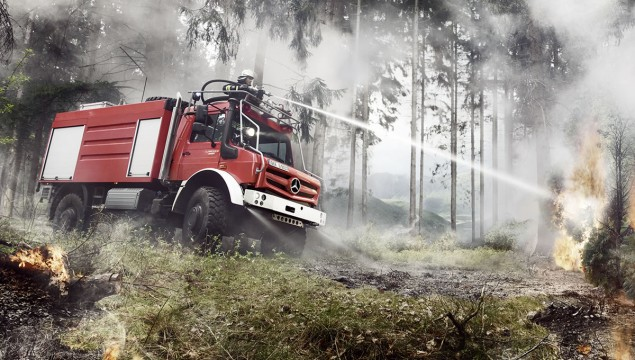 Unimog U 4023 and U 5023 Set New Off-Road Standards