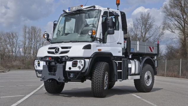 Unimog U 216 to Unimog U 530 Implement Carriers Now More Powerful