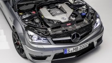 2014 Mercedes C63 AMG Edition 507 engine