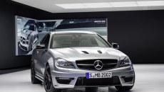 2014 Mercedes C63 AMG Edition 507 front grille
