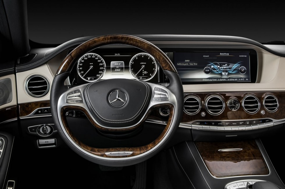 2014 Mercedes-Benz S-Class Steering Wheel
