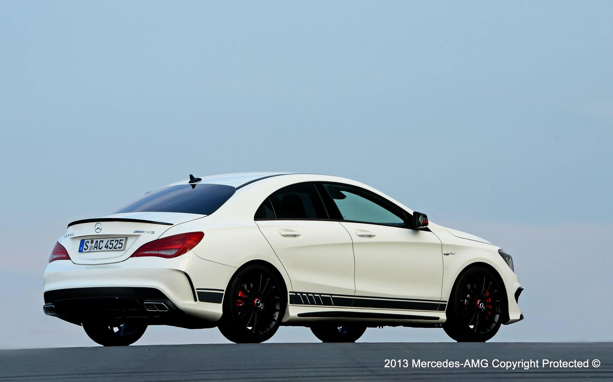 Mercedes Announces CLA45 AMG Edition 1 Photo Gallery Mercedes