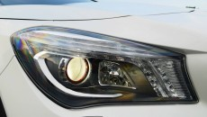 Mercedes CLA45 AMG Edition 1 headlights