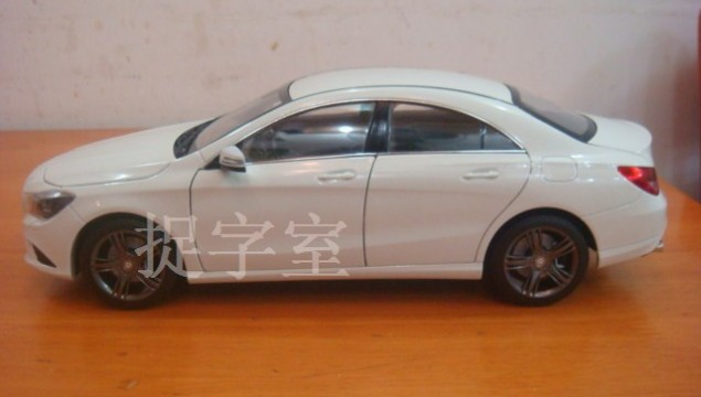 Mercedes-Benz CLA Scale Model Revealed