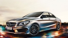 2013 Mercedes CLA45 AMG spy photo