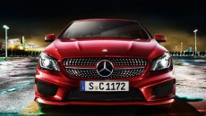 2014 Mercedes CLA250 in designo Patagonia Red with Sport Package 2
