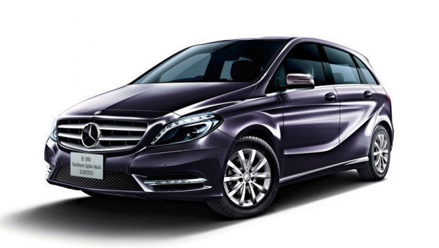 Mercedes B 180 Northern Lights Limited Edition