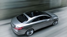 Mercedes-Benz Concept Style Coupe driving exterior