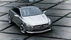 Mercedes-Benz Concept Style Coupe aerial photo