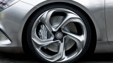 Mercedes-Benz Concept Style Coupe wheel close-up