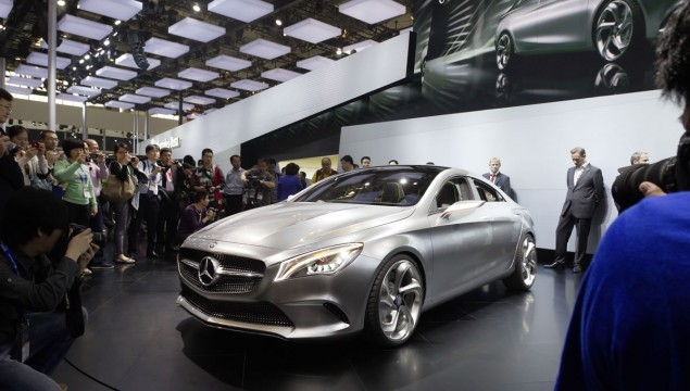 Mercedes-Benz Concept Style Coupé Official World Premiere