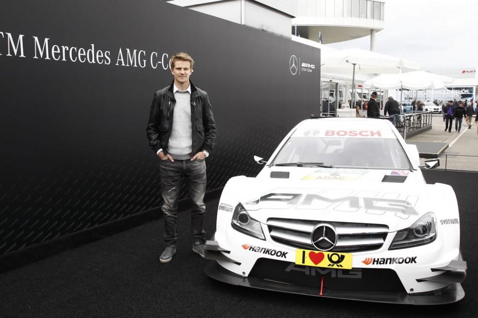 Nico Rosberg Attends DTM Season Opener