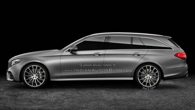 Mercedes-Benz E-Class Estate Rendering