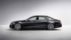 2014 Mercedes-Benz S600 Side Exterior
