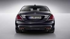 2014 Mercedes-Benz S600 Rear