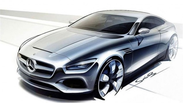 2015 Mercedes S-Class Coupe exterior front