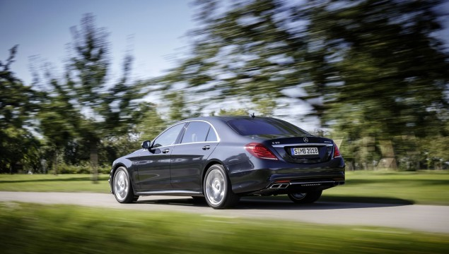 2014 Mercedes S65 AMG Officially Revealed