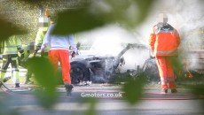 Mercedes-Benz SLS AMG Black Series Crashes